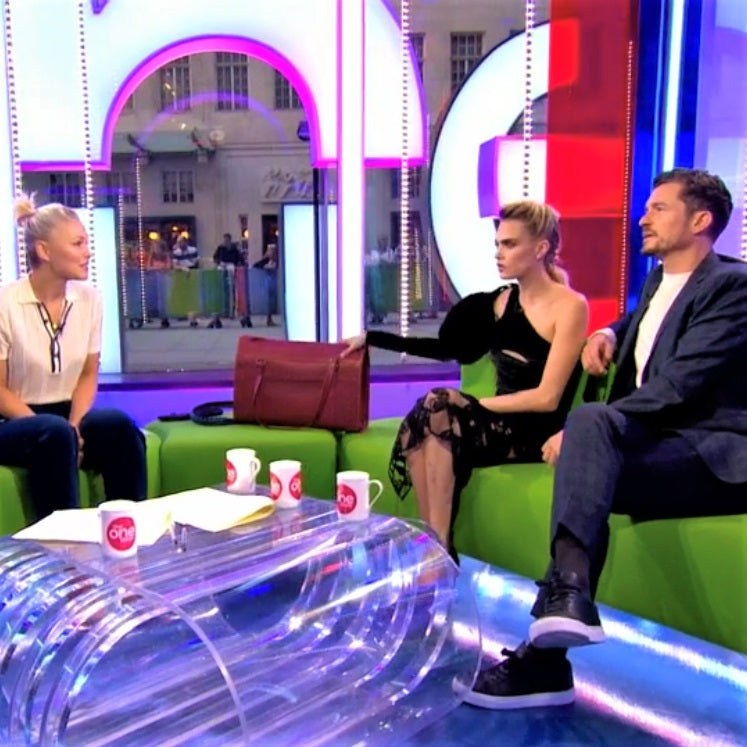 Elvis & Kresse on The BBC One Show with Cara Delevingne and Orlando Bloom