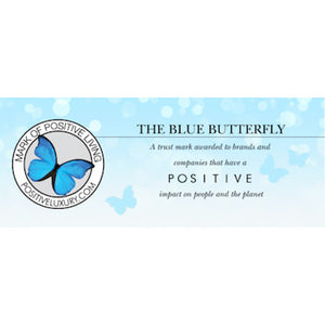 Elvis & Kresse Receive Positive Luxury's Blue Butterfly
