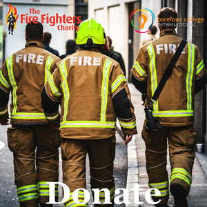 Elvis & Kresse Donation to the Fire Fighters Charity, 2020