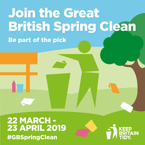 Great British Spring Clean - Elvis & Kresse - Keep Britain Tidy