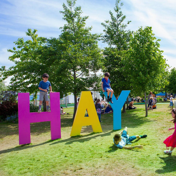 Our First Hay Festival