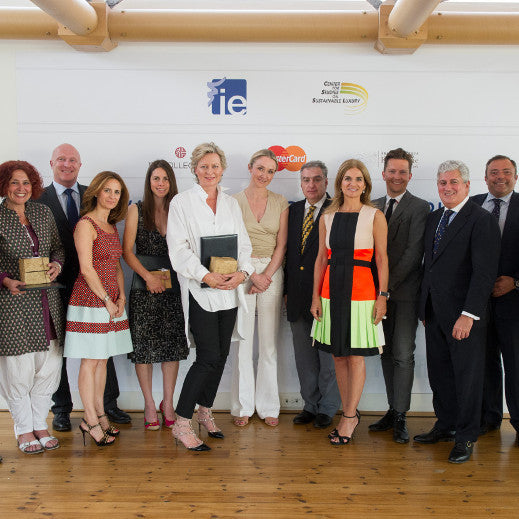 Elvis & Kresse win the IE Award for Sustainability