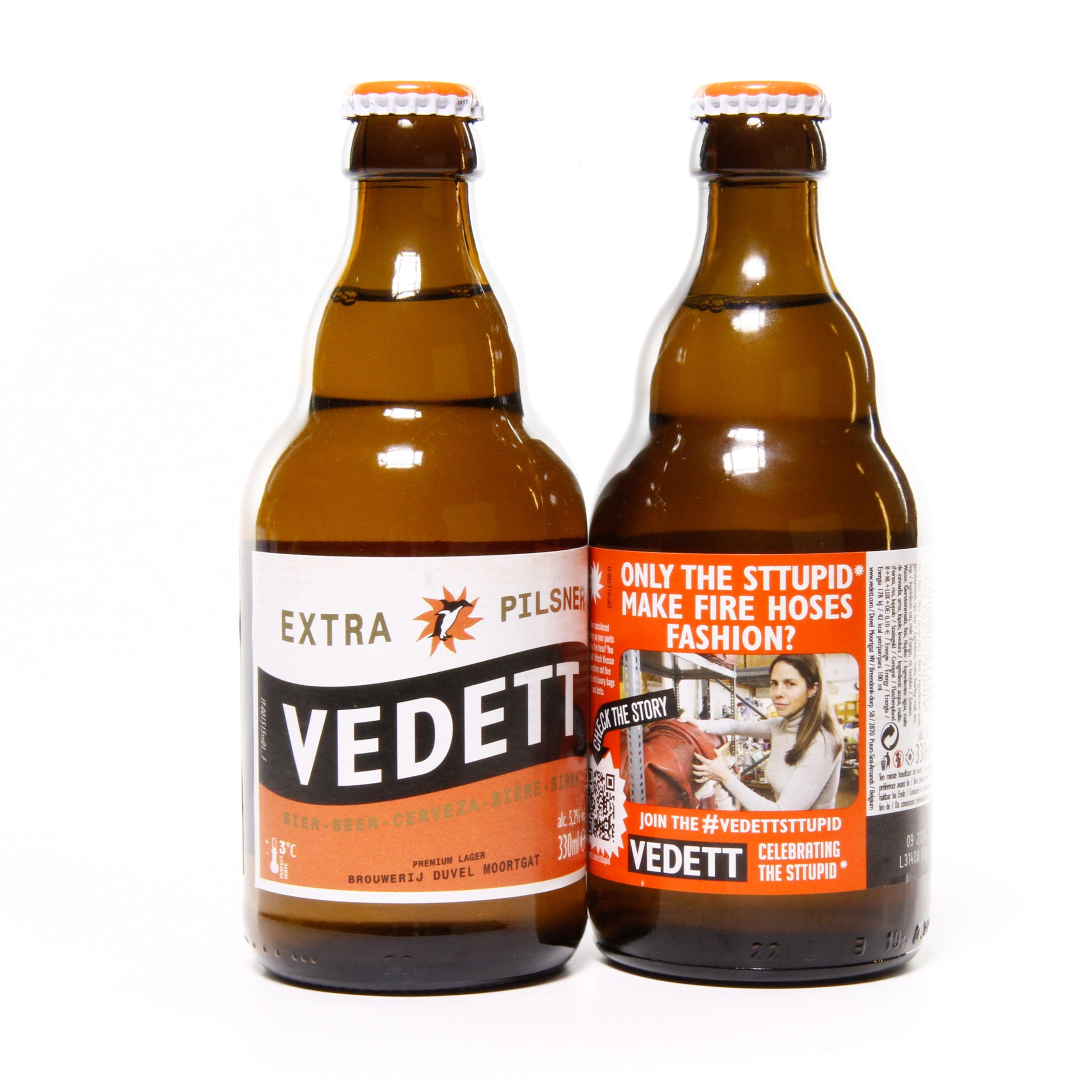 Vedett Beer with Elvis & Kresse Wesling