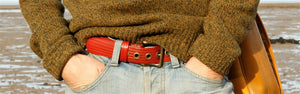 Elvis & Kresse Sustainable Fire-hose Belts