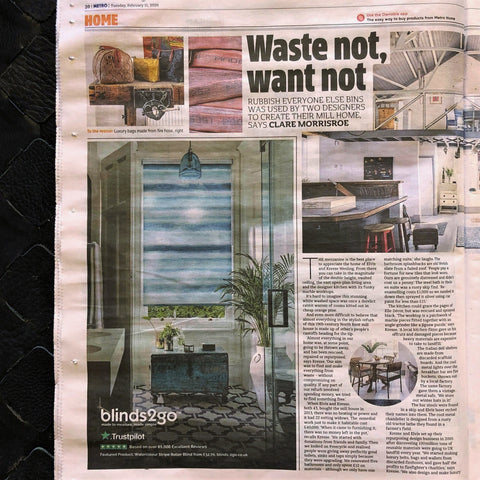 Waste Not Want Not - Elvis & Kresse - Metro Magazine