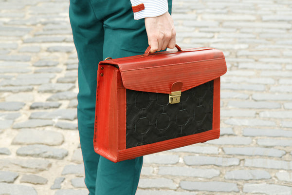 Elvis & Kresse fire & hide Attache case