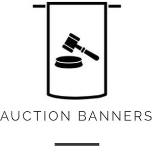Auction Banners - Elvis & Kresse