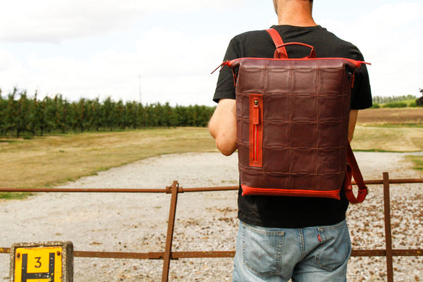 Sustainable Luxury Backpack by Elvis & Kresse
