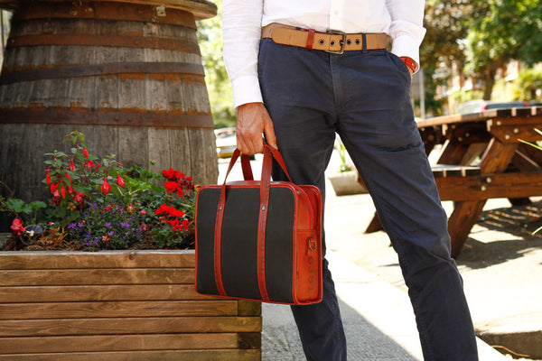 Print Room Compact Briefcase