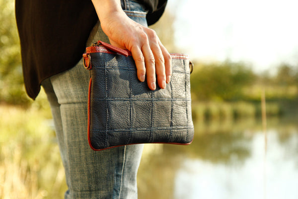 Fire & Hide Clutch by Elvis & Kresse
