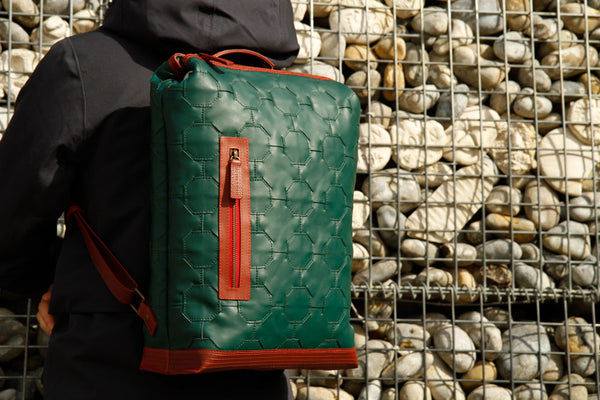 Elvis & Kresse Backpack - British Racing Green