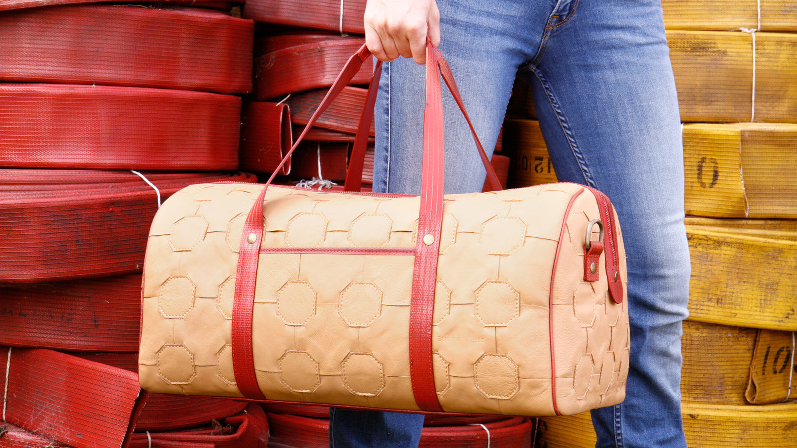 Elvis & Kresse Fire & Hide Duffel Bag