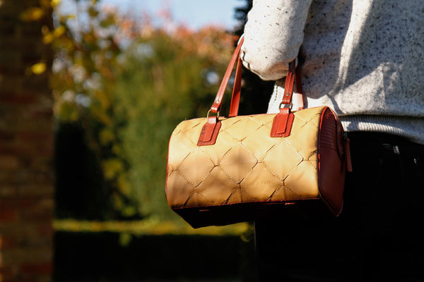 The Fire & Hide Post Bag by Elvis & Kresse