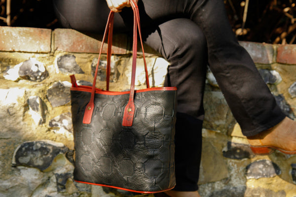Fire & Hide Tote Bag by Elvis & Kresse