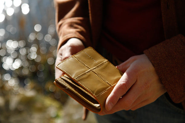 Elvis & Kresse Fire & Hide wallet