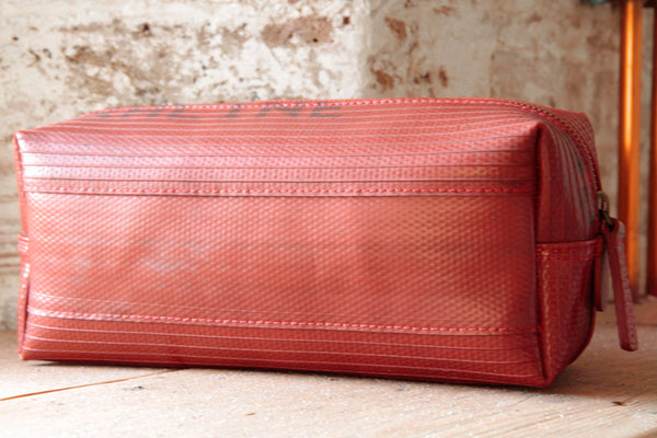 Elvis & Kresse Medium Washbag - sustainable luxury