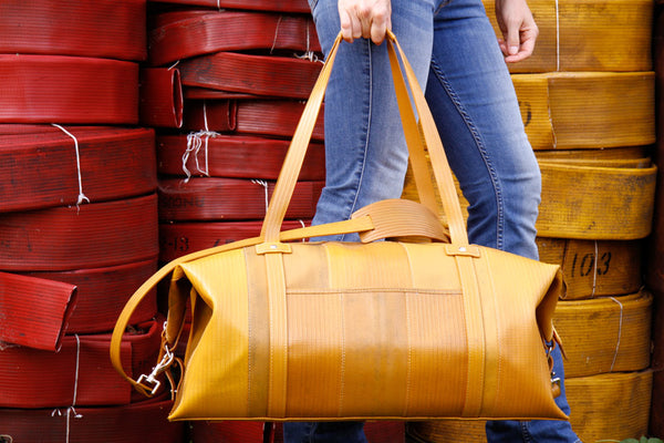 Elvis & Kresse Fire-hose Weekend bag
