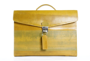 Elvis & Kresse Attache Case - Yellow