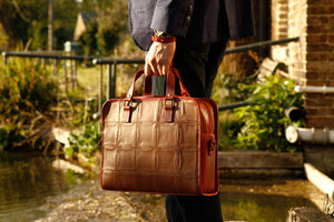 Elvis & Kresse Fire & Hide Compact Briefcase