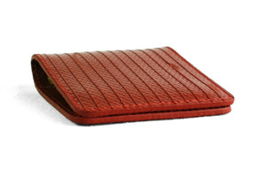 Double Card Holder by Elvis & Kresse made from old fire-hose