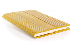 Elvis & Kresse notebook in rare yellow decommissioned fire-hose