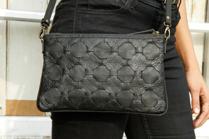LIVARI Black Clutch Bag - Elvis & Kresse