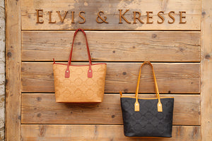 Recycled Leather Tote Bags - Elvis & Kresse