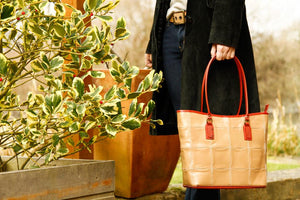 Elvis & Kresse Fire & Hide Tote