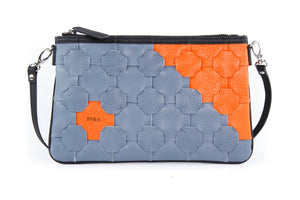 Ethically handmade leather clutch - Elvis & Kresse