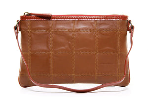 Elvis & Kresse Fire & Hide Clutch - Cognac