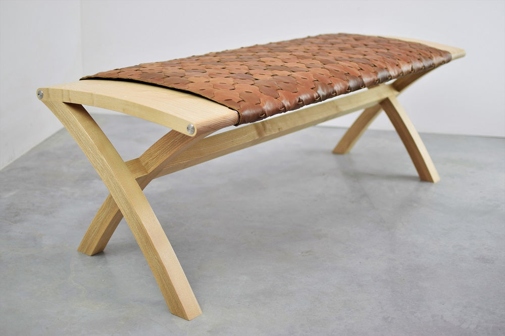 Beam Bench in Ash - Elvis & Kresse