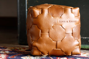 Leather Cube - Elvis & Kresse