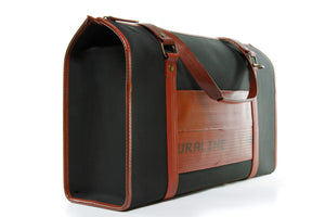 Decommissioned Fire-hose and Printing Blanket Bag - Sustainable Luxury