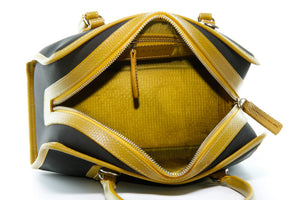 The Elvis & Kresse Post Bag with reclaimed parachute silk lining