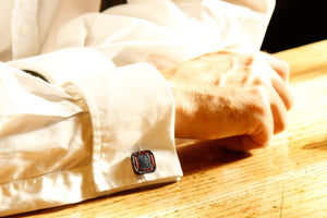 Torpedo Cufflinks - Sustainable Luxury by Elvis & Kresse