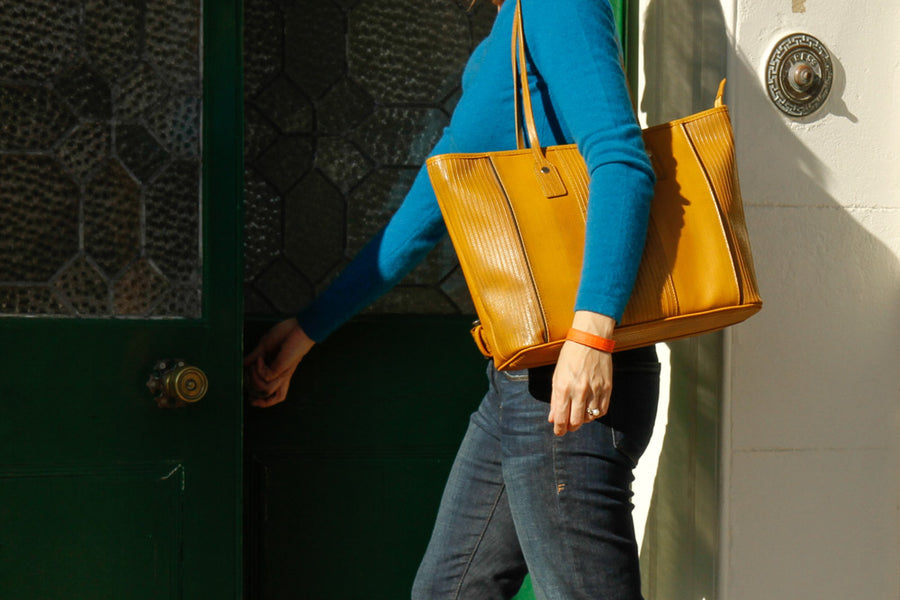 Elvis & Kresse Tote Bag - Yellow