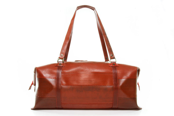 Elvis & Kresse Weekend Bag - Made from decommissioned fire-hose