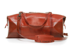 Elvis & Kresse Weekend Bag - Red