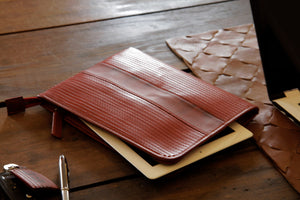 Elvis & Kresse iPad case, made from decommissioned fire-hose