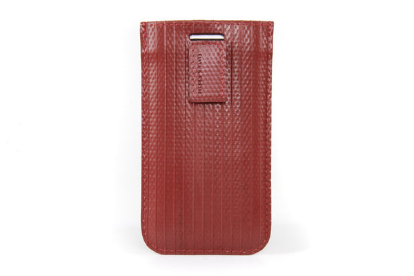 Elvis & Kresse iPhone case made from reclaimed fire-hose
