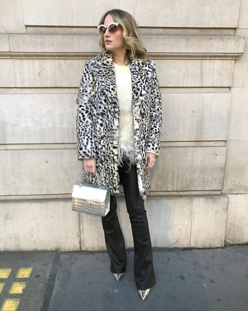 Rosie Fortescue from Made in Chelsea wears her Karan Rai Handbag