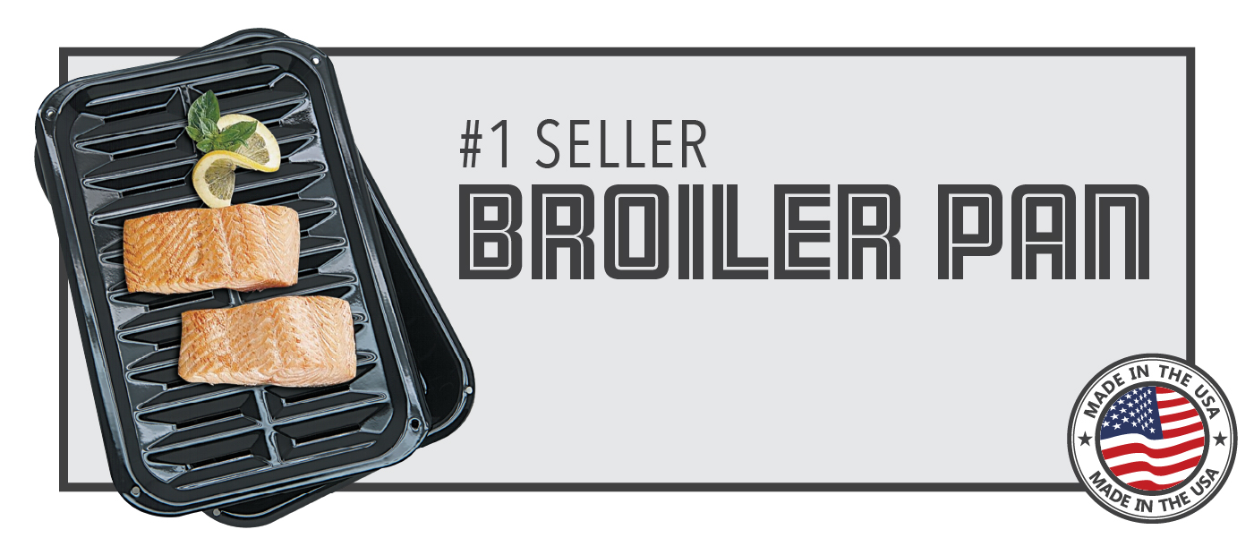 Broiler pans and grills