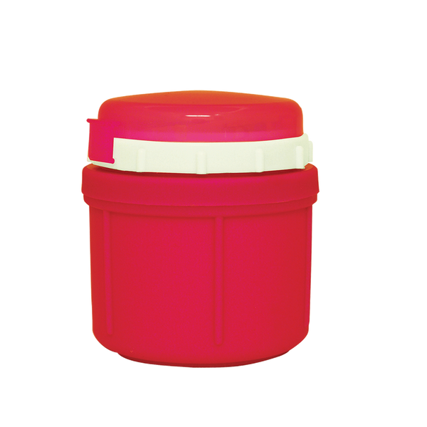 10FJR - 10 ounce Insulated Cherry Red Food Jar