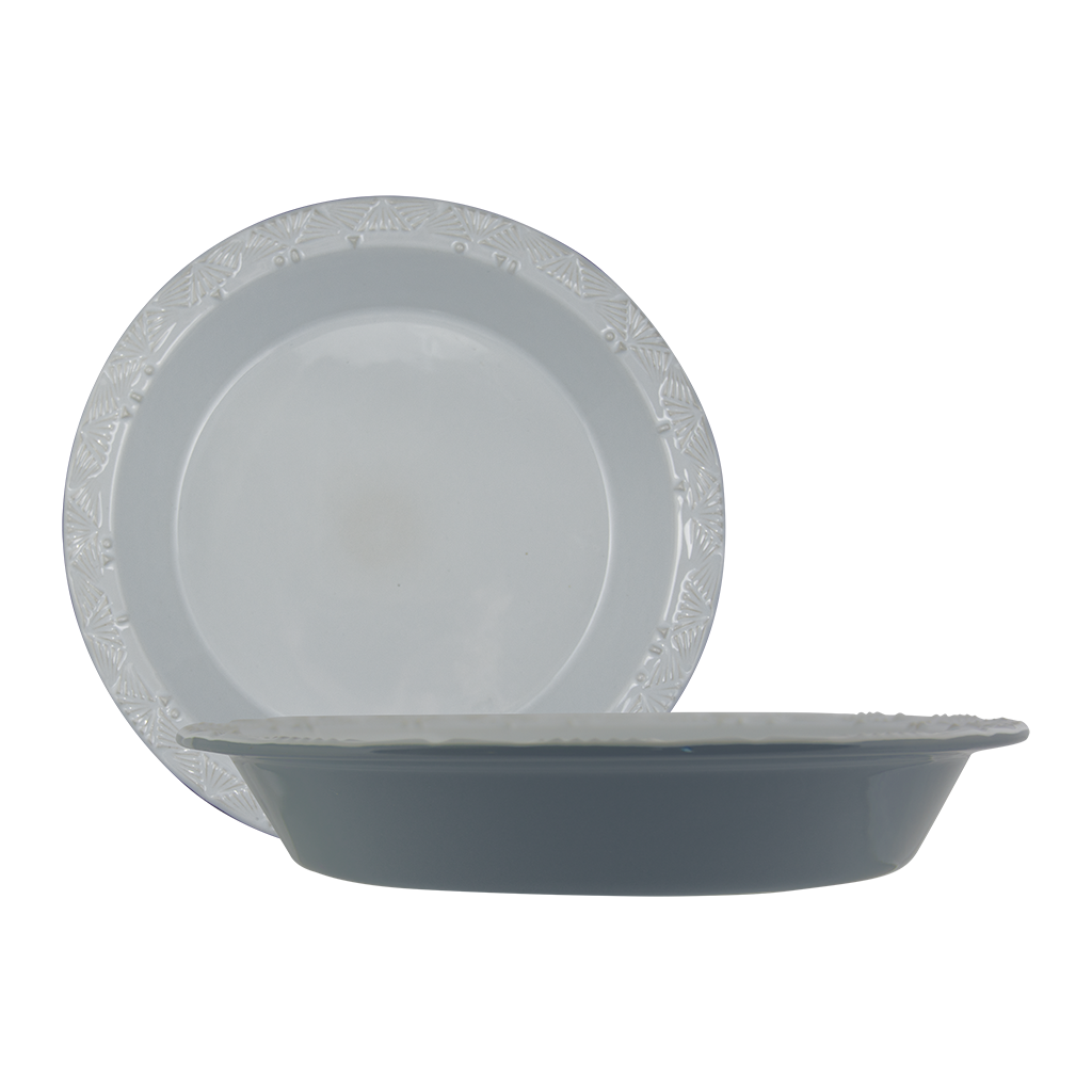 2 piece pie plate set