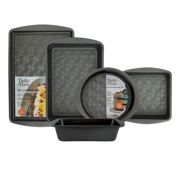 5-piece bakeware set taste of home