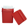 600-02Red Trap the Grease: Fat Trapper® in Red with 2 Grease Disposable Bags Range Kleen