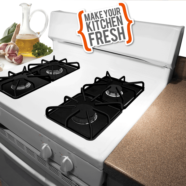 672S 5-Pack Nonstick Gas Stovetop Liners Range Kleen - FINAL SALE!