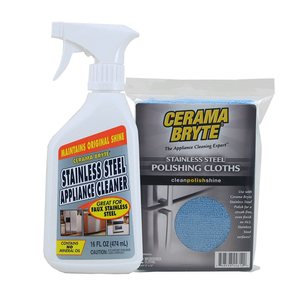 718R - CeramaBryte Stainless Steel Cleaning Kit