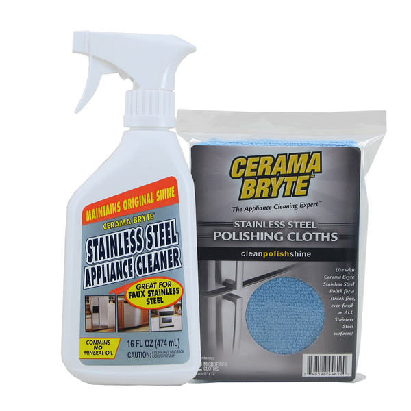 718R CeramaBryte Stainless Steel Cleaning Kit