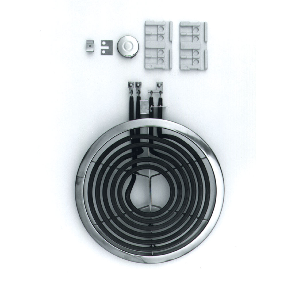 7284 Style D Large Burner Element HINGED Electric Ranges